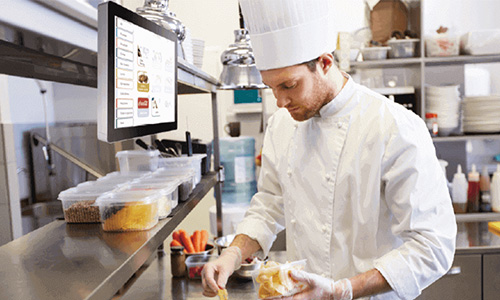 研華廚房顯示系統,顯著提高速食連鎖店作業效率
